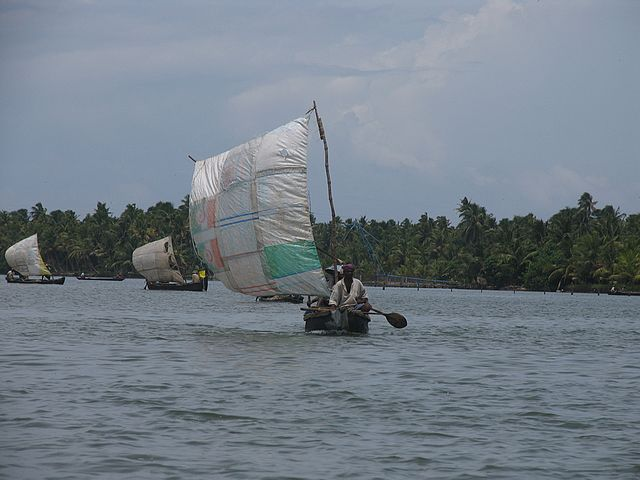 Sailing the Kerala Canal