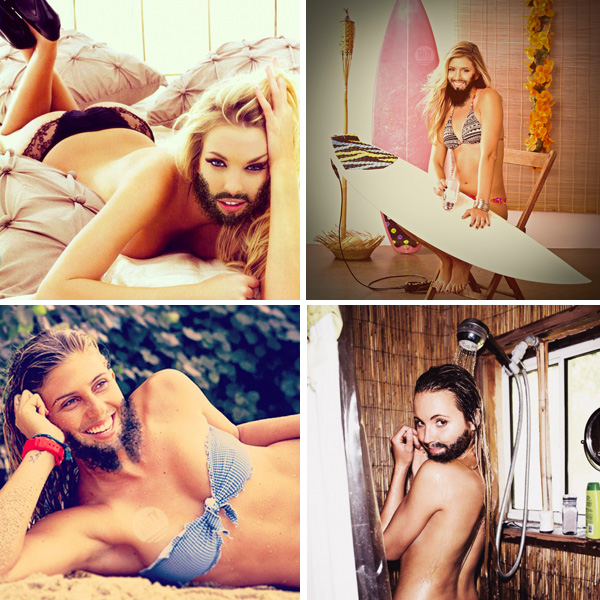 Bearded Ladies of Surf via Surfer Magazine's Week in Review