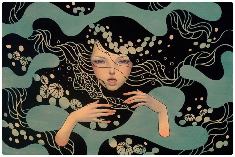 Deep Waters, by Audrey Kawasaki ( http://www.audrey-kawasaki.com )