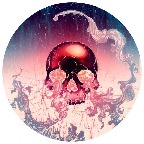 Wave (Skull), James Jean