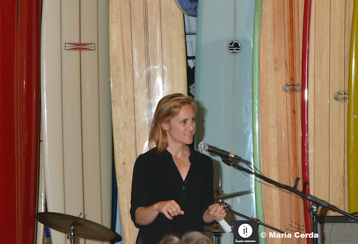 Speaking at the International Women's Day event hosted by The Inspire Initiative and Waves of Freedom, March 8, 2015.
